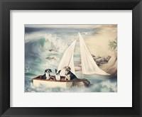 Framed Ruff Seas