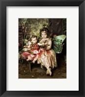 Framed Victorian Fairies