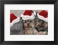 Framed Santa's Helpers