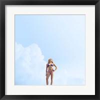 Framed American Girl