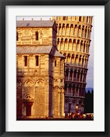 Framed Tower of Pisa