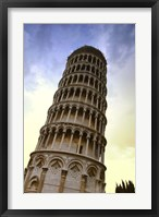 Framed Close Up of Leaning Tower of Pisa