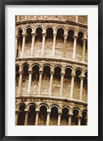 Framed Architectural Close up of Colleseum