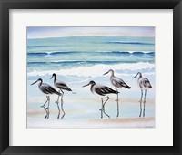 Framed 5 Birds