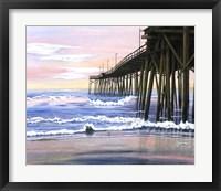 Framed Early Morning Pier