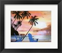 Framed Tropical Morning