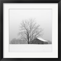 Framed Townsend Winter I