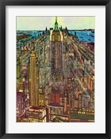 Framed Manhattan 71