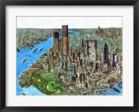Framed Manhattan 72