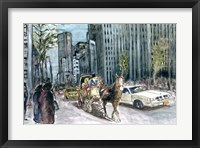 Framed New York 5th Ave