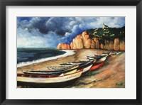 Framed Normandy Coast