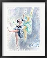 Framed Ballet Dancers