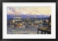 Framed Bellingham Harbor