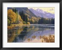 Framed Silver Lake Getaway