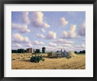 Framed Threshing Day