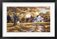 Framed Days Of Autumn