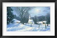 Framed Afternoon Sleigh Ride