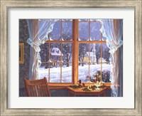 Framed Winter Windows