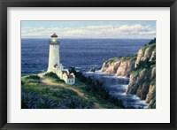 Framed North Head Lighthouse