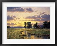 Framed September Sunset