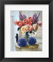 Framed Old Roses