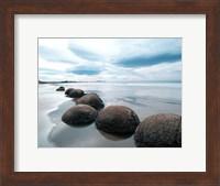 Framed Moeraki Boulders #3, New Zealand 98