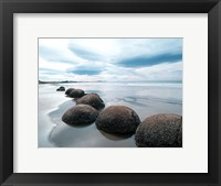 Framed Moeraki Boulders #3, New Zealand 98