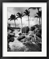 Framed Hawaiian Falls, Big Island