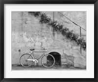 Framed Bicycle & Cracked Wall, Einsiedeln, Switzerland 04