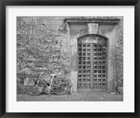 Framed Bicycle & Door, Yverdon, Switzerland 04