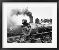 Framed Locomotive, Ohio 85