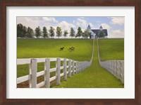 Framed Manchester Farm, Kentucky 08
