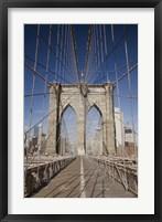 Framed Brooklyn Bridge,  New York City, New York 08
