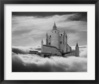 Framed Castle In The Clouds, Segovia, Spain 11
