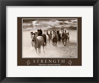 Framed Strength Motivational