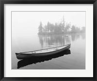 Framed Lone Canoe, Liverpool, Nova Scotia, Canada 04