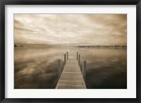 Framed Dock at Crooked Lake, Conway, Michigan 09