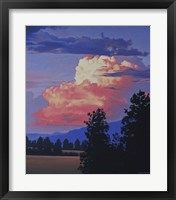 Framed Evening Clouds