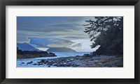 Framed Haida Gwaii Evening Shore