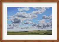 Framed Prairie Clouds
