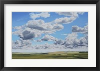 Framed Prairie Clouds