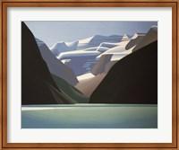 Framed Lake Louise