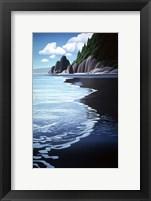 Framed Washington Coast
