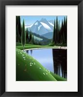 Framed Apine Pond