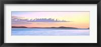 Framed Island Dawn