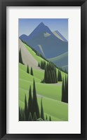 Framed Alpine Grandeur