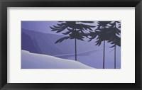 Framed Seabank Winter