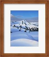 Framed White Mountain