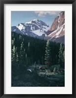Framed Haidok Peak