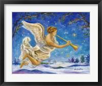 Framed Christmas Angel - Joy to the World